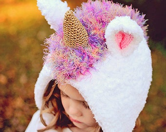CROCHET PATTERN Stardust the Unicorn Hat Bonnet PDF Crochet Pattern With Instant Download