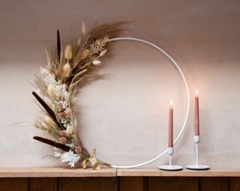 Hoop Wreath - DIY product. Thick 10mm heavy duty metal wreath, perfect uding witb florals ideal as home decor. DIY / Reuseable.
