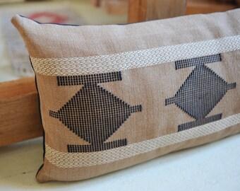 Handwoven wall hanging/ Fiber art/ Weaving/ Cotton & Linen