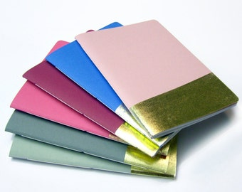 stationery, notebook, journal, diary, book, booklet, papergoods, paper, office supplies, memo, blank book - Golden notebook