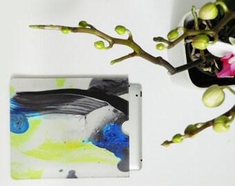 SALE - Elder digitally printed leather iPad/iPad mini sleeve