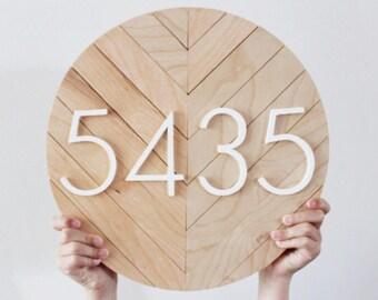 House Number Plaque, House Numbers, House Number Signs, Address Plaque, Modern House Numbers, Address Numbers, House Numbers Plaque