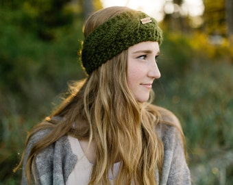 CILANTRO - CABLEBAY HEADBAND -  Cable knit - Winter headband