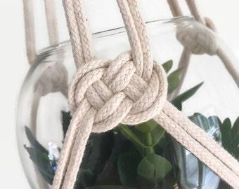 Natural Cotton Macrame Plant Hanger