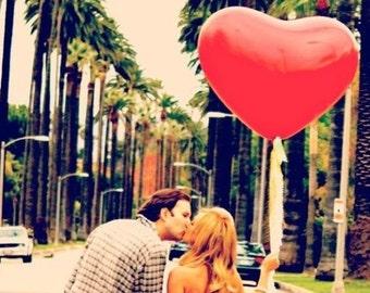 Riesen 3ft Rot Herz Luftballons für Hochzeiten, Geburtstage feiern Dekor 2