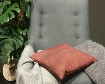 Cushion / pillow made of natural cork.