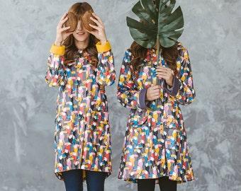 Waterproof Coat, Hooded Coat, Women's Raincoat, Outdoor Clothing, Raincoat, Coat, Women's clothing, Long Sleeve Coat, Windproof, Jacket