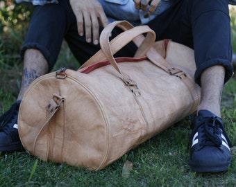 Weekend / travel bag (Handmade Genuine Leather )