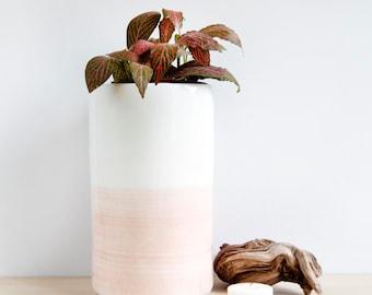 Large ceramic vase, Ceramic vase, Flower vase, Ceramic vessel, Ceramics & pottery, Pottery vase, Ceramic planter, modern minimalist ceramic