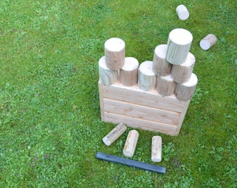 Wooden Can Knockdown