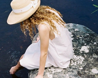 Vintage Summer Daydress ~ Romantic Pale Pink