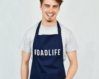 Funny Dad BBQ Apron #Dadlife Dad Life