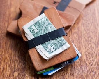 Wooden Wallet // THE TWIN