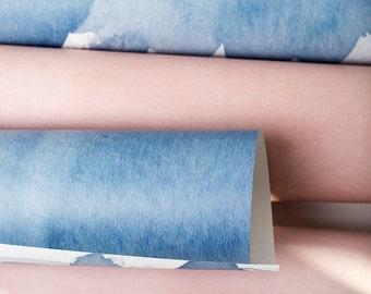 "DENIM color capsule collection  20"" x 29"" gift wrap sheets 2 pk"