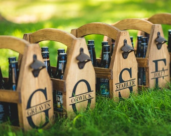 BEER Bottle Opener Cap Catcher Rustic Personalized Beer Bottle Opener Wood Brewery Groomsman Gift Father's Day Gift for Him BEER GIFT