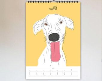 Motivation / Kalender 2019, Abreißkalender, Wandkalender, Kalender, Terminkalender, Jahresplaner, Poster, Weihnachten, Deko, Typografie
