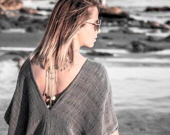 Bohemian Kimono | Kimono Jacket, Summer Jacket , Bridesmaid Robe, Kimono Top, Gypsy Kimono, Boho Chic Beachwear, Beach Cover Up, Poppy