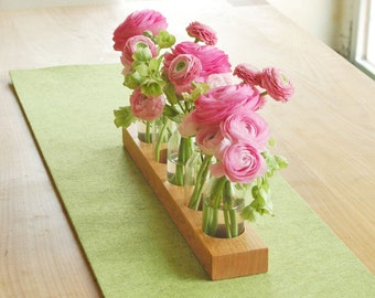 Décorations de table romantique, vase à fleurs, bouteille de lait