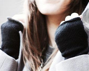 Fingerless Gloves mittens,  Armwarmers woman, Handwarmers,  Wristwarmers,  Cuffs FUN by zauberhanddesign