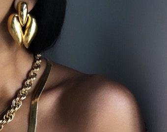 vintage statement earrings