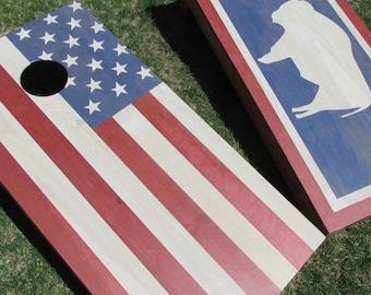 Cornhole Game by Colorado Joe's Wyoming Flag