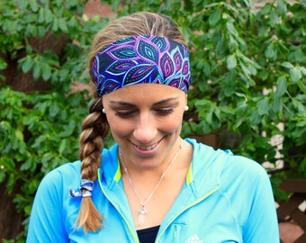 Buy 2 get 1 free! Yoga Headband, Paisley Desert, Workout Headband, Best selling Item, Running Headbands, boho headband