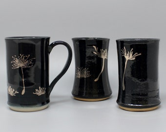 Mug,Ceramic Mug,Ceramic Cup,Tumbler,Teacup,Coffee Mug,Mugs,Drinkware set,Stoneware,Dandelion,Decorative Ceramic Mug,Tea Cup,Mug Set,Gift Mug