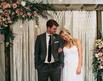 Décor de mariage Boho photographie décor mariage Decor Photo Booth mariage rustique Decor de mariage