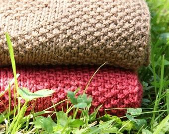 Baby blanket PATTERN / Diamond baby blanket knit PATTERN/ baby blanket knitting pattern