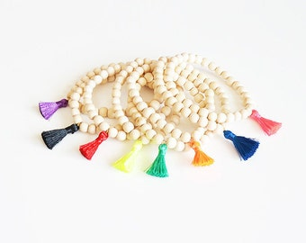 Bracelet pompon bohème