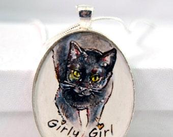 2weeks turnaround  custom dog portrait keychain, custom pet portrait, cat portrait hand painted