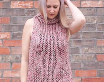Spring Knits - The Billow Tank - A Knitting Pattern