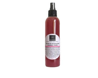 Flaxseed & Horsetail Growth Activating Herbal Tonic |Hair Leave in Tea |Detangling Herbal Mist| Strengthening Spray| Anti-Dandruff|Anti-Itch