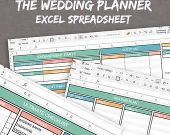 photographer s excel planner spreadsheets for business etsy