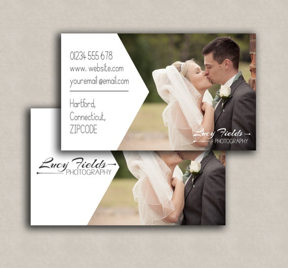 Business card template photoshop marketing card double etsy image 0 reheart Choice Image