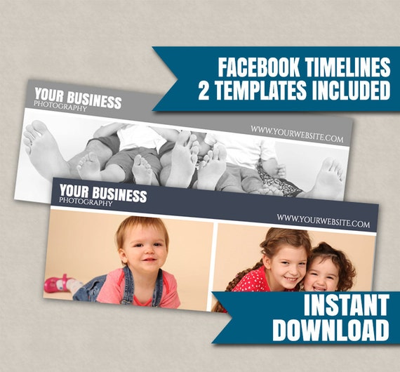 Facebook cover template photoshop timeline social media board etsy image 0 accmission Gallery