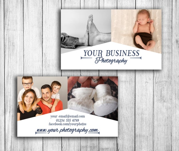 Photography business card template wedding photographer etsy image 0 cheaphphosting Gallery