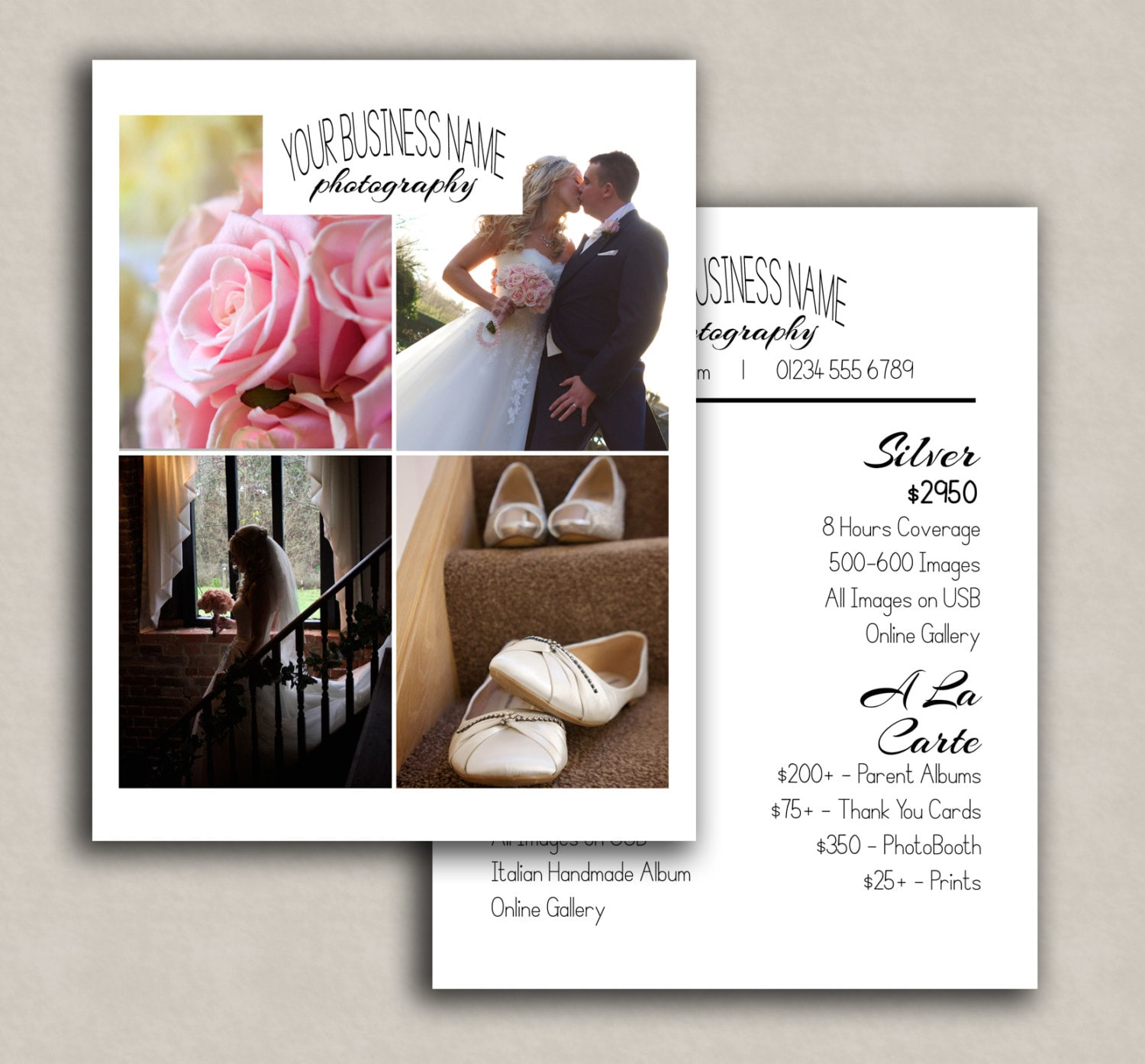 wedding photography pricing template price guide for photographers