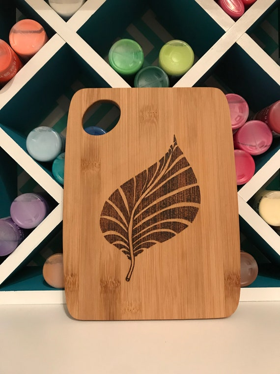 Custom Cutting Board Leaf Fall Home Wall Art Kitchen Decor
