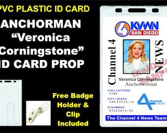 grey s anatomy customizable id badge card prop pvc etsy