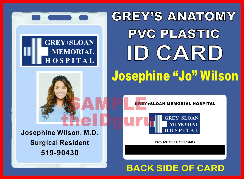 Insignia de identificación Josephine Jo Wilson | Etsy
