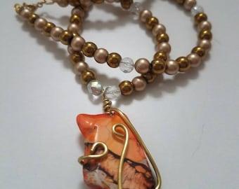 Beachcomber Sunset Necklace