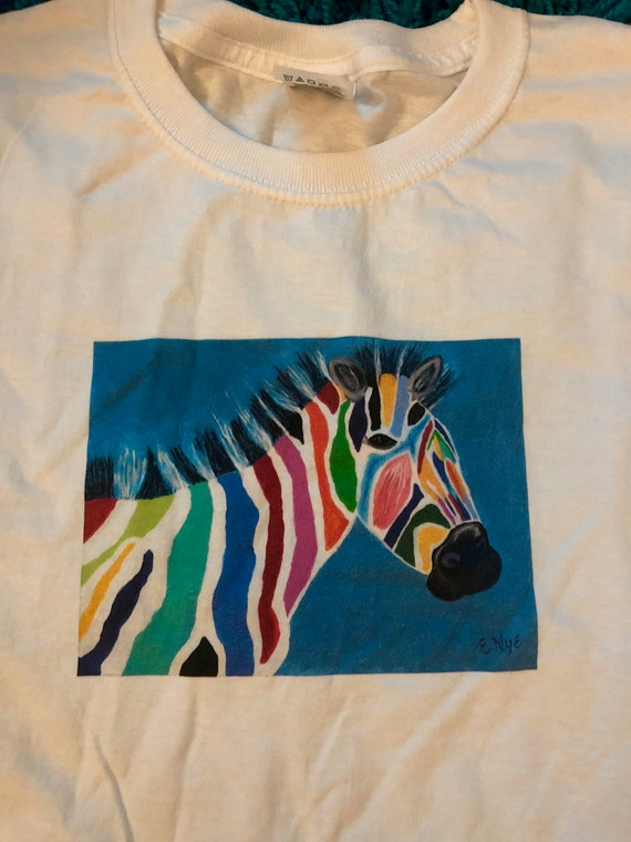 Adult Zebra T-Shirt