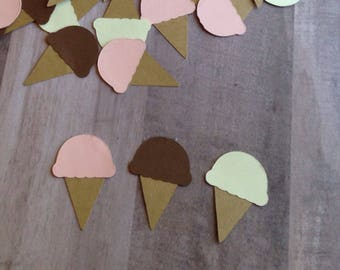 Ice Cream Confetti, Ice Cream Birthday Supplies, Ice Cream Party Supplies, Ice Cream Birthday Decor, Ice Cream Party Decor, Ice Cream Party