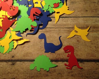 Dinosaur confetti, birthday confetti, party confetti, dinosaur birthday supplies, dinosaur birthday decorations, Dinosaur Birthday, Dinos