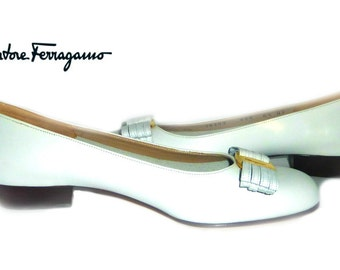 Salvatore Ferragamo Niccola Vara Bow Pumps