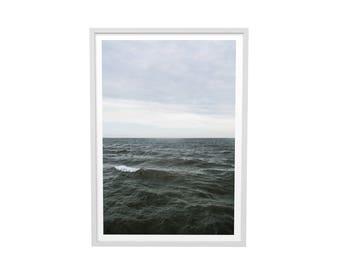 Wave of the North Atlantic Print