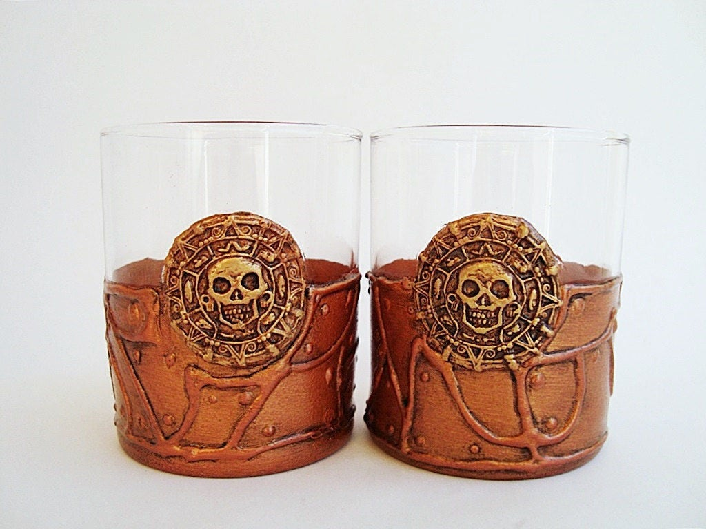 Pirates Des Cara Bes Lunettes Steampunk Verres Whisky