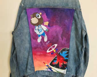 7ded11d46c1f Hand painted jacket