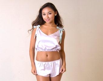 Silky Pajama Shorts